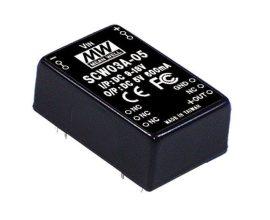 Tápegység Mean Well SCW03A-05 3W/5V/600mA