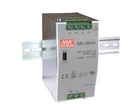 Tápegység Mean Well DR-120-24 120W/24V/0-5A
