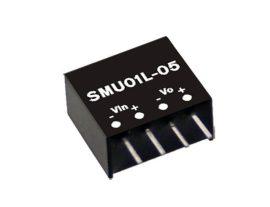 Tápegység Mean Well SMU01L-09 1W/9V/110mA