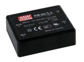 Tápegység Mean Well PM-05-5 5W/5V/0-1A