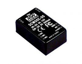 Tápegység Mean Well SCW05B-09 5W/9V/556mA