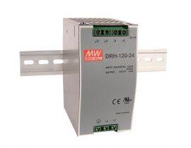 Tápegység Mean Well DRH-120-24 120W/24V/0-5A