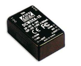 Tápegység Mean Well DCW05B-15 5W/15V/190mA