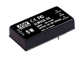 Tápegység Mean Well DLW05C-05 5W/5V/500mA