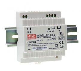 Tápegység Mean Well DR-30-5 30W/5V/0-3A