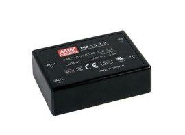Tápegység Mean Well PM-15-24 15W/24V/0-0,63A