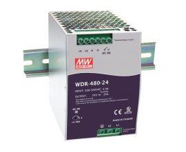 Tápegység Mean Well WDR-480-24 480W/24V/0-20A