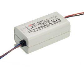 LED tápegység Mean Well APC-12-700 12W/9-18V/700mA