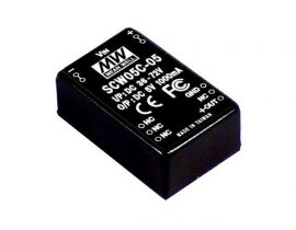 Tápegység Mean Well SCW05A-15 5W/15V/400mA