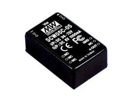 Tápegység Mean Well SCW05C-09 5W/9V/556mA