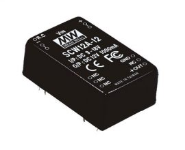 Tápegység Mean Well SCW12B-12 12W/12V/1000mA