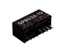 Tápegység Mean Well SPB03C-12 3W/12V/250mA
