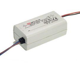 LED tápegység Mean Well APV-16-24
