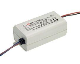 LED tápegység Mean Well APC-16-700 16W/9-24V/700mA